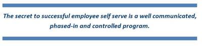 the secret to successful self serve